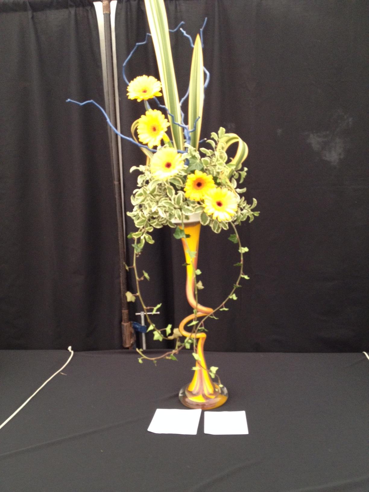 Floral Art entry 2016