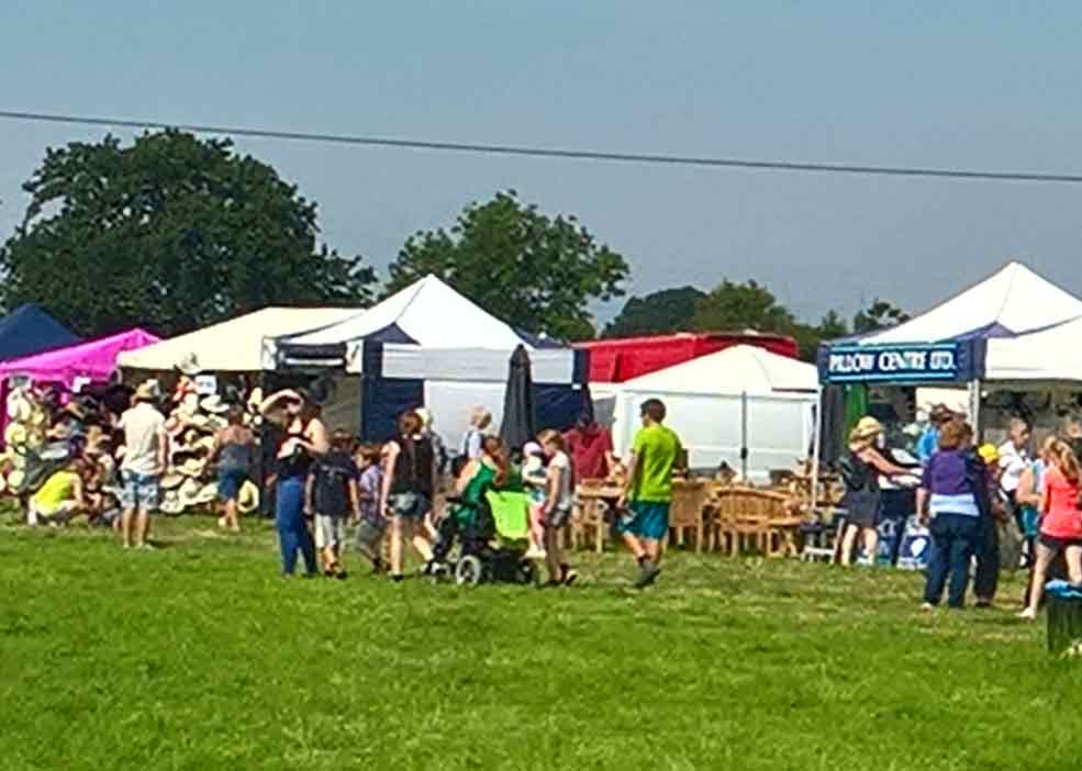 Trade Stands For : Trade stalls the swallowfield show