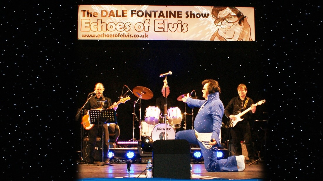 Dale Fontaine at the Village Bandstand