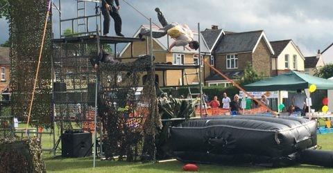 Reel stunts in Action